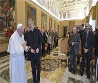 البابا فرنسيس يستقبل هيئة تحرير مجلة يديرها الآباء اليسوعيون