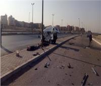 4 مصابين في حادث مروري على الطريق الزراعي بكفر الدوار