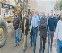 نائب محافظ القاهرة يتابع توصيل الصرف الصحي للمنطقة الصناعية بالمرج