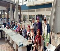 «الشباب والرياضة» تستضيف بطلات «بهية» بمركز شباب الجزيرة