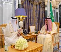 عاجل| خادم الحرمين الشريفين يستقبل الأمين العام لدول مجلس التعاون الخليجي