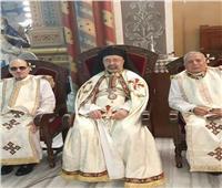 الأنبا إبراهيم اسحق يحتفل باليوبيل الفضي للآباء اللعازريين