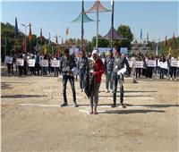 بدء فعاليات معسكر العمل الدولي لجوالي وجوالات الجامعات العربية