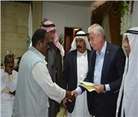 منحة من الأزهر.. محافظ جنوب سيناء يدعم الصيادين بـ483 ألف جنيه