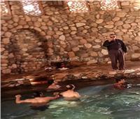 صور.. «حمام موسى» كنز السياحة العلاجية بطور سيناء