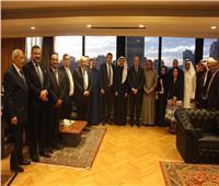 اتحاد الصناعات يلتقي أعضاء مجلس الأعمال المصري السعودي