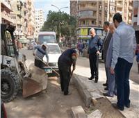محافظ الدقهلية يكلف الأجهزة التنفيذية بكسح وشفط تجمعات المياه من الشوارع