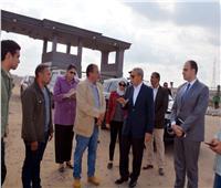 الهجان يحيل مدير الشئون الإدارية بمجلس مدينة كفر شكر لتحقيق بسبب النظافة
