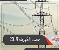 إنفوجراف| إنتاج وتوليد «الكهرباء» خلال عام 2019