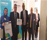 نائب وزير التعليم يكرم مدرسة «كفر الجمال» بطوخ لحصولها على جائزة دولية