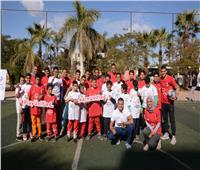 صور| استمرار حملة الأولمبياد الخاص المصري للتوعية بالمدارس الموحدة SNF