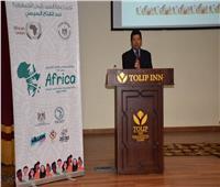 وزيرا الرياضة والآثار يلتقيان المشاركين في برنامج متطوعي الاتحاد الإفريقي