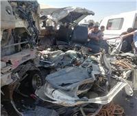 إصابة 24 شخصا في حادث مروري بالإسماعيلية