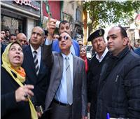 صور| محافظ الإسكندرية: لن نترك مخالفة بناء وهيبة الدولة هي الأهم