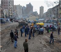 محافظ الإسكندرية يقود حملة إزالة مكبرة بمحطة مصر