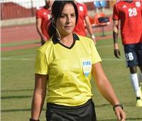 منى عطا الله: أحلم بتحكيم مباراة الأهلي والزمالك