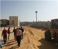 استحداث طريق جديد بعرض 3 حارات مرورية بمدينة 6 أكتوبر