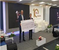 نائب رئيس جامعة الأزهر يشارك في احتفالية تأسيس هيئة الرقابة المالية