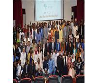 وزيرا الشباب والآثار يلتقيان المشاركين في برنامج متطوعي الاتحاد الإفريقي