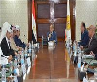 وزير التنمية المحلية يستقبل رئيس مجلس الأعمال المصري السعودي لبحث التعاون