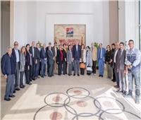 أعضاء المجلس المصري للشئون الخارجية في زيارة لاقتصادية قناة السويس