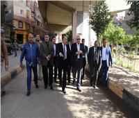 محافظ الجيزة يتفقد أعمال الرصف والتطوير بشارع ترعة عبد العال 1