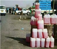 ضبط صاحب محطة بنزين لقيامه ببيع المواد البترولية في السوق السوداء