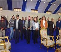 وزيرة الهجرة ومحافظ دمياط في جولة تفقدية بمدينة الأثاث الجديدة بدمياط