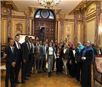 «اعرف برلمانك».. طلاب جامعة المنيا يزورون مجلس النواب
