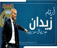 إنفوجراف| أرقام زين الدين زيدان مع ريال مدريد