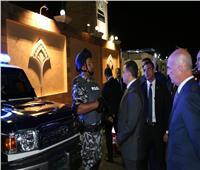صور| وزير الداخلية يتفقد الاستعدادات الأمنية قبل انطلاق منتدى «أسوان للسلام والتنمية»