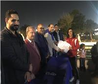الزهور يكرم أبطال الجمباز الحاصلين على بطولات دولية