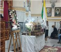 عذراء عزبة النخل تستقبل رفات القديسة «تريزا»
