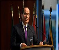 التقاط صورة تذكارية للسيسي مع رؤساء دول وحكومات أفريقيا قبيل منتدى أسوان