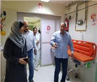 وكيل الصحة بالقليوبية يتفقد مستشفى حميات بنها للوقوف على مستوى الخدمة