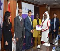 وزير الشباب يلتقي المشاركات في برنامج «كود أفريقيا» لرائدات الأعمال