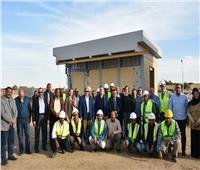 صور.. «رئيس القابضة» يتفقد مشروع معالجة مياه الصرف الصحي بالحبيل
