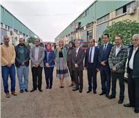 القائم بأعمال سفير روسيا في مصر تزور بورسعيد