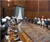 الإمام الأكبر: خطاب الأزهر رسالة سلام للعالم وتدريب الأئمة في مقدمة أولوياتنا