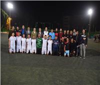 رئيس جامعة سوهاج يكرم الطلاب الفائزين في بطولات الأنشطة الرياضية