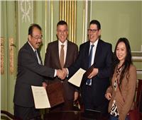 اتفاقيتا تعاون بين جامعة عين شمس وجامعة كيوشو اليابانية