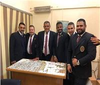 إحباط محاولة تهريب 1253 قرصًا مخدرًا بمطار القاهرة