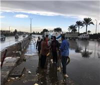 القليوبية تحذر المواطنين من الاقتراب من أعمدة الإنارة أثناء سقوط الأمطار