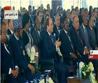 السيسي أمام منتدى السلام بأسوان: المصريات تصدين بقوة للحفاظ على هوية بلدهن