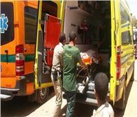 إصابة ضابط أثناء تنظيم المرور بمدخل دمنهور