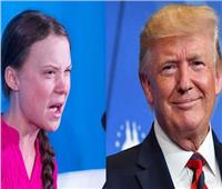 ترامب يتهكم على فتاة سويدية فازت بجائزة العام من مجلة «تايم» الأمريكية