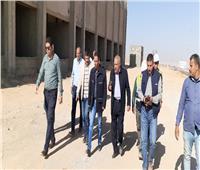 رئيس جهاز مدينة بدر يتابع سير العمل بمحطة محولات الكهرباء