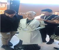 فيديو و صور| الروبوت صوفيا تصل منتدى شباب العالم 2019
