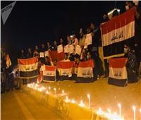 شرطة كربلاء بالعراق تنفي تعرض متظاهرين للطعن