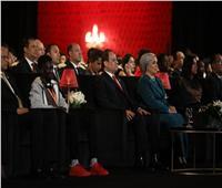«جون» ضحية التنمر بجوار الرئيس السيسي في حفل افتتاح مسرح شباب العالم